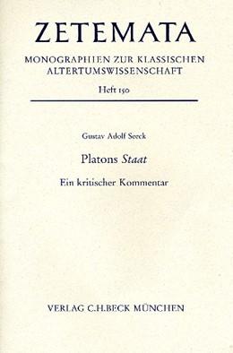 Abbildung von Seeck, Gustav Adolf | Platons Staat | 1. Auflage | 2015 | beck-shop.de