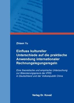 Abbildung von Yu | Einfluss kultureller Unterschiede auf die praktische Anwendung internationaler Rechnungslegungsregeln | 2015 | Eine theoretische und empirisc... | 42