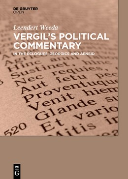 Abbildung von Weeda | Vergil´s Political Commentary | 2015 | in the Eclogues, Georgics and ...