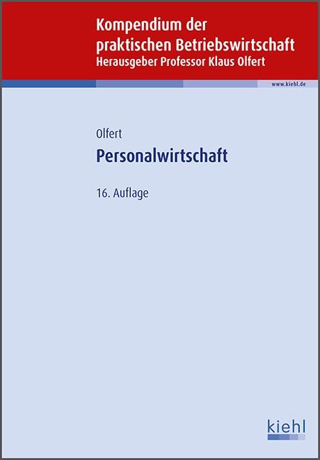 Personalwirtschaft | Olfert | 16., aktualisierte Auflage, 2015 | Buch (Cover)