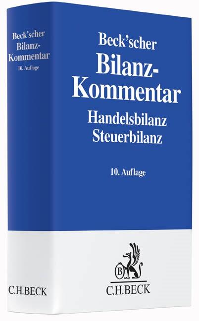 Beck'scher Bilanz-Kommentar | 10., neubearbeitete Auflage, 2016 | Buch (Cover)