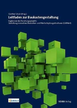 Abbildung von Dany / Schuh   Leitfaden zur Baukastengestaltung   1. Auflage   2015   beck-shop.de