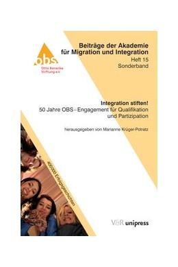 Abbildung von Krüger-Potratz | Integration stiften! | 2015 | 50 Jahre OBS – Engagement für ... | Heft 015