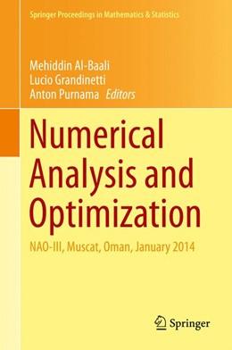 Abbildung von Al-Baali / Grandinetti | Numerical Analysis and Optimization | 1. Auflage | 2015 | 134 | beck-shop.de
