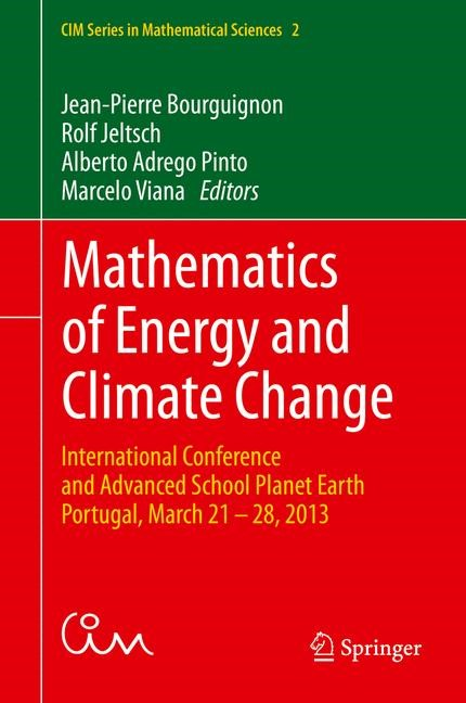Mathematics of Energy and Climate Change | Bourguignon / Jeltsch / Pinto / Viana | 1st ed. 2015, 2015 | Buch (Cover)
