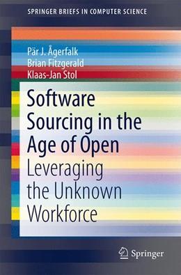 Abbildung von Ågerfalk / Fitzgerald | Software Sourcing in the Age of Open | 1. Auflage | 2015 | beck-shop.de