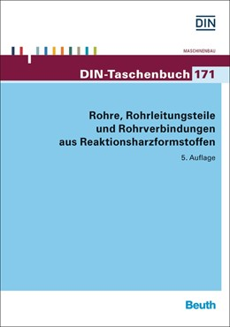 Abbildung von Rohre, Rohrleitungsteile und Rohrverbindungen aus Reaktionsharzformstoffen | 5. Auflage | 2015 | 171 | beck-shop.de