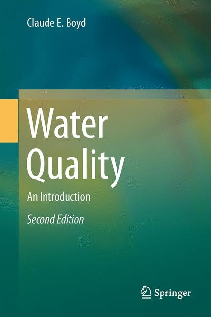 Water Quality | Boyd | 2nd ed. 2015, 2015 | Buch (Cover)