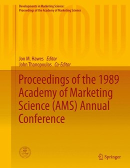 Abbildung von Hawes | Proceedings of the 1989 Academy of Marketing Science (AMS) Annual Conference | 1. Auflage | 2015 | beck-shop.de