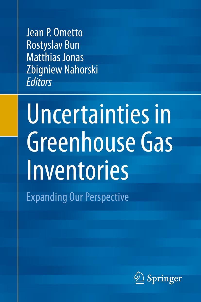 Uncertainties in Greenhouse Gas Inventories | Ometto / Bun / Jonas / Nahorski | 2015, 2015 | Buch (Cover)