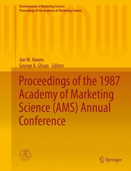 Abbildung von Hawes / Glisan | Proceedings of the 1987 Academy of Marketing Science (AMS) Annual Conference | 1. Auflage | 2015 | beck-shop.de