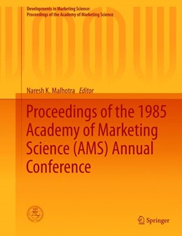 Abbildung von Malhotra | Proceedings of the 1985 Academy of Marketing Science (AMS) Annual Conference | 2015 | 2015