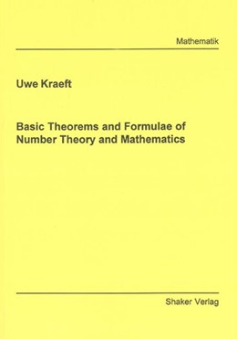 Abbildung von Kraeft   Basic Theorems and Formulae of Number Theory and Mathematics   2007
