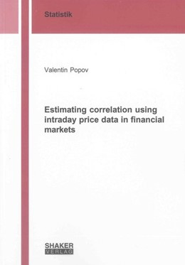 Abbildung von Popov | Estimating correlation using intraday price data in financial markets | 2013