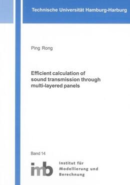 Abbildung von Rong   Efficient calculation of sound transmission through multi-layered panels   1. Auflage   2013   beck-shop.de