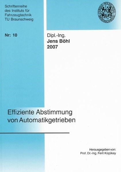 Abbildung von Böhl   Effiziente Abstimmung von Automatikgetrieben   2007