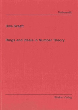 Abbildung von Kraeft | Rings and Ideals in Number Theory | 2011
