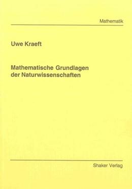 Abbildung von Kraeft | Mathematische Grundlagen der Naturwissenschaften | 2009
