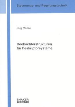 Abbildung von Menke   Beobachterstrukturen für Deskriptorsysteme   1. Auflage   2006   beck-shop.de