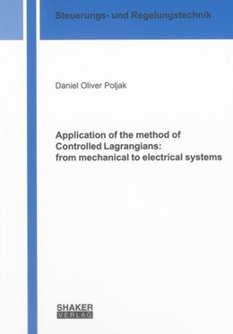 Abbildung von Poljak | Application of the method of Controlled Lagrangians: from mechanical to electrical systems | 1. Auflage | 2012 | beck-shop.de