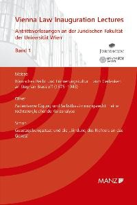 Abbildung von Meissel / Ofner / Simon   Antrittsvorlesungen an der Rechtswissenschaftlichen Fakultät der Universität Wien   2008