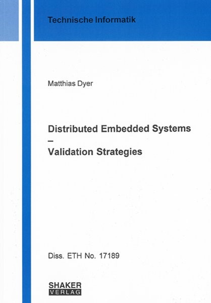 Distributed Embedded Systems - Validation Strategies | Dyer, 2007 | Buch (Cover)