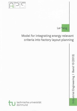 Abbildung von Yang | Model for integrating energy relevant criteria into factory layout planning | 2013