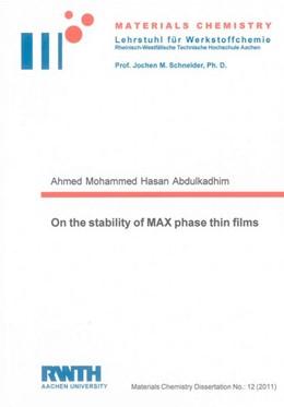Abbildung von Abdulkadhim | On the stability of MAX phase thin films | 2011