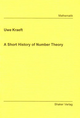Abbildung von Kraeft | A Short History of Number Theory | 2005