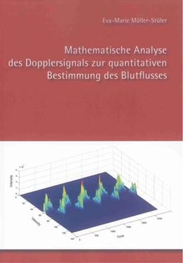Abbildung von Müller-Stüler   Mathematische Analyse des Dopplersignals zur quantitativen Bestimmung des Blutflusses   2012