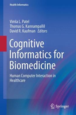 Abbildung von Patel / Kannampallil | Cognitive Informatics for Biomedicine | 1. Auflage | 2015 | beck-shop.de