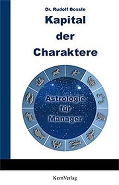 Kapital der Charaktere | Bossle, 2001 | Buch (Cover)