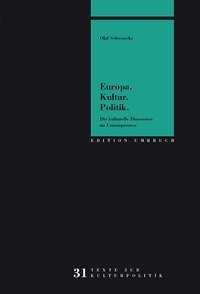 Europa. Kultur. Politik. | Schwencke (Cover)