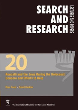 Abbildung von Porat / Bankier | Roncalli and the Jews During the Holocaust: Concern and Efforts to Help | 2015