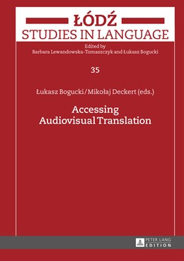 Abbildung von Bogucki / Deckert | Accessing Audiovisual Translation | 2015 | 35