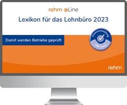 Abbildung von Schönfeld / Plenker | Lexikon für das Lohnbüro • Online | 1. Auflage | | beck-shop.de