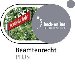 Abbildung von beck-online. Beamtenrecht PLUS     Das Online-Angebot u.a. mit Ba...