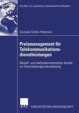 Abbildung von Schön-Peterson | Preismanagement für Telekommunikationsdienstleistungen | 2003 | Modell- und methodenorientiert...