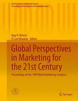 Abbildung von Manrai / Meadow | Global Perspectives in Marketing for the 21st Century | 2015 | 2015 | Proceedings of the 1999 World ...