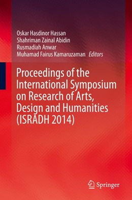 Abbildung von Hassan / Abidin | Proceedings of the International Symposium on Research of Arts, Design and Humanities (ISRADH 2014) | 1. Auflage | 2015 | beck-shop.de