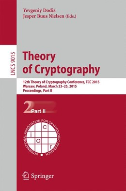 Abbildung von Dodis / Nielsen | Theory of Cryptography | 2015 | 2015 | 12th International Conference,...
