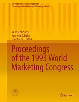 Abbildung von Sirgy / Bahn | Proceedings of the 1993 World Marketing Congress | 1. Auflage | 2015 | beck-shop.de