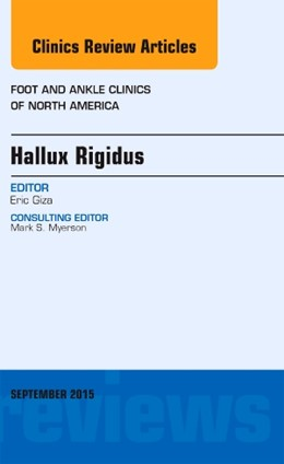 Abbildung von Giza | Hallux Rigidus, An issue of Foot and Ankle Clinics of North America | 2015 | 20-3