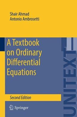 Abbildung von Ahmad / Ambrosetti | A Textbook on Ordinary Differential Equations | 2nd ed. 2015 | 2015 | 88