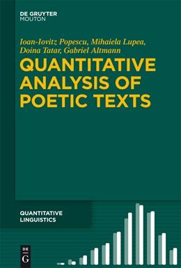Abbildung von Popescu / Lupea / Tatar | Quantitative Analysis of Poetic Texts | 2015 | 67