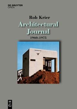 Abbildung von Krier | Architectural Journal 1960-1975 | 2016