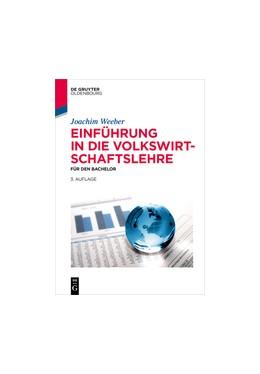 Abbildung von Weeber | Einführung in die Volkswirtschaftslehre | 3. Auflage | 2015 | beck-shop.de