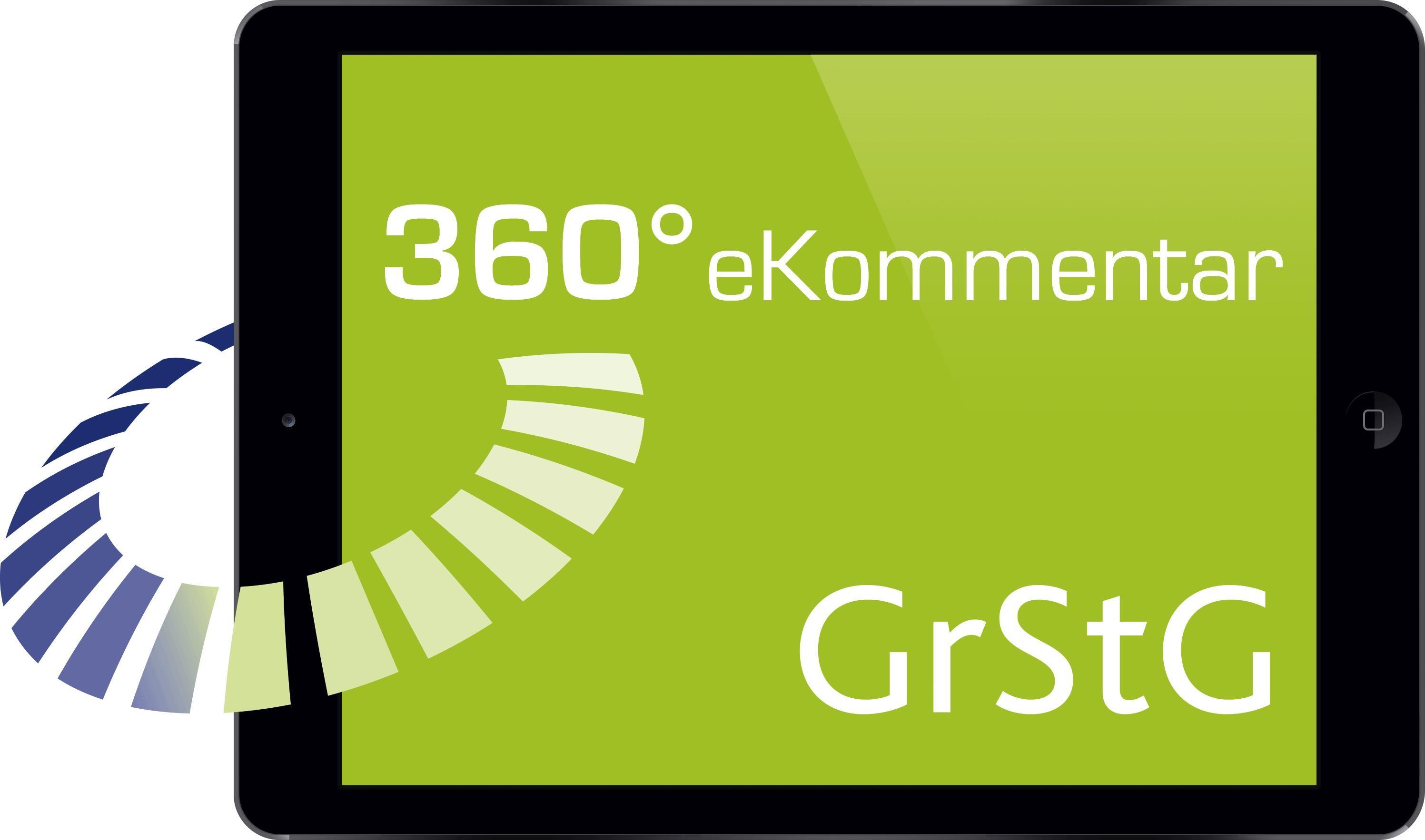 Abbildung von 360° GrStG eKommentar