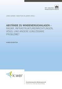 Abstände zu Windenergieanlagen, 2015 | Buch (Cover)