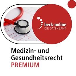 Abbildung von beck-online. Medizin- und Gesundheitsrecht PREMIUM | 1. Auflage | | beck-shop.de